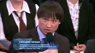 """Время покажет"" Сангаджи Тарбаев"