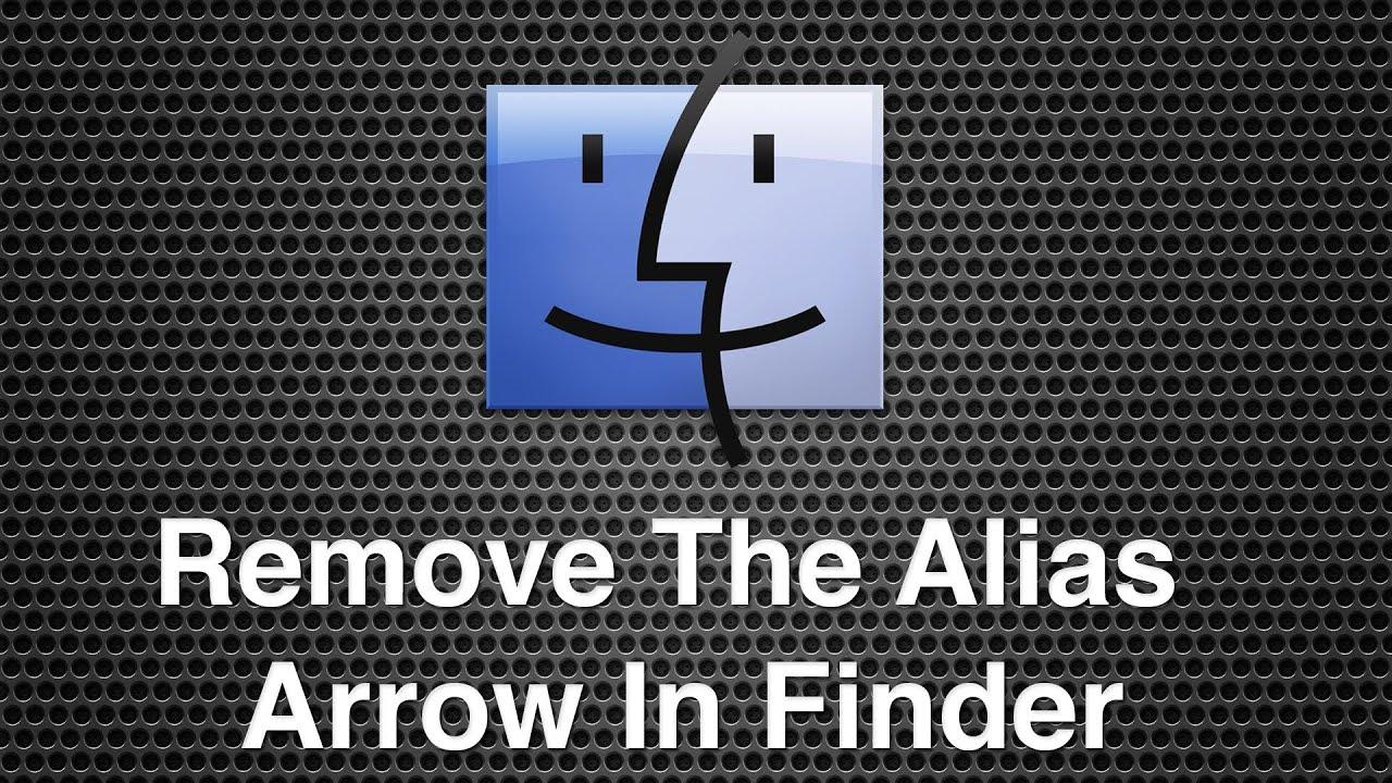 how to fix alias file on mac