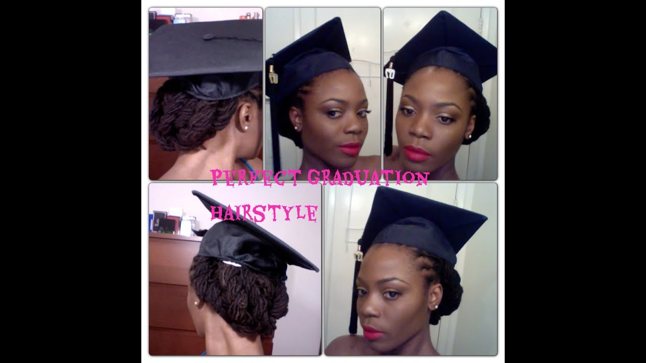 Cap And Gown Pictures With Natural Hair