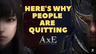 Alliance Vs Empire (axe)   Here's Why People Are Quitting