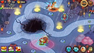 Realm Defense ShamiKo seige difficulty 126 + 5
