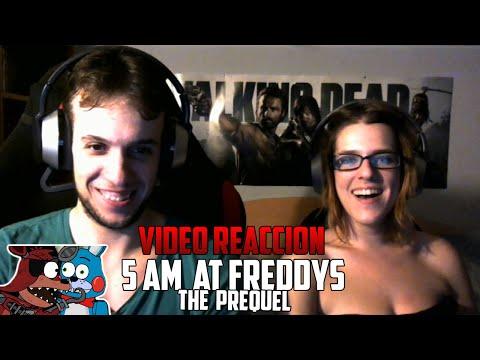 5 AM AT FREDDY'S: THE PREQUEL | ESPAÑOL | YUGO Y YAIMA VÍDEO REACCIÓN