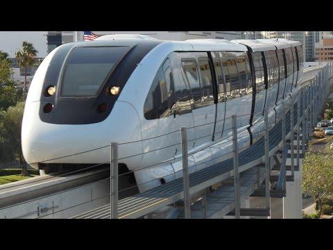 Las Vegas Monorail Train