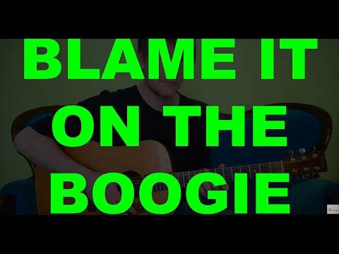 blame-it-on-the-boogie-(jackson-5)---guitar-tutorial-(david-plate)