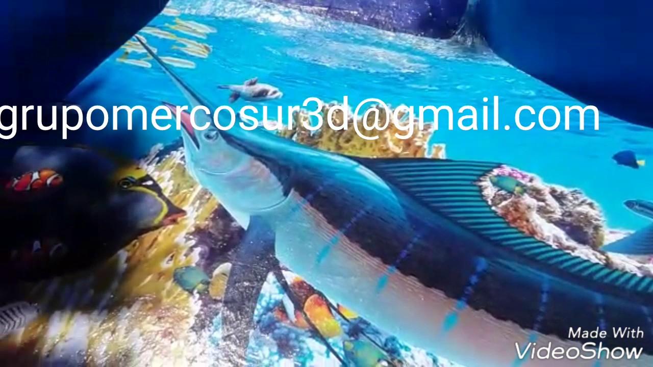 Piscinas 3d porcelanato l quido 3d argentina youtube for Liquido sellador para piscinas