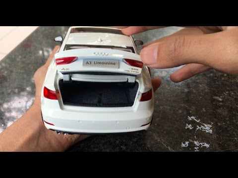 Diecast Unboxing-2015 Audi A3 1/18 Audi Collection Paudi models