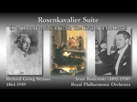 R. Strauss: Rosenkavalier Suite, Rodziński & RPO (1955) R. シュトラウス ばらの騎士組曲 ロジンスキ