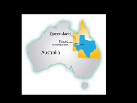 Australia Actual Size