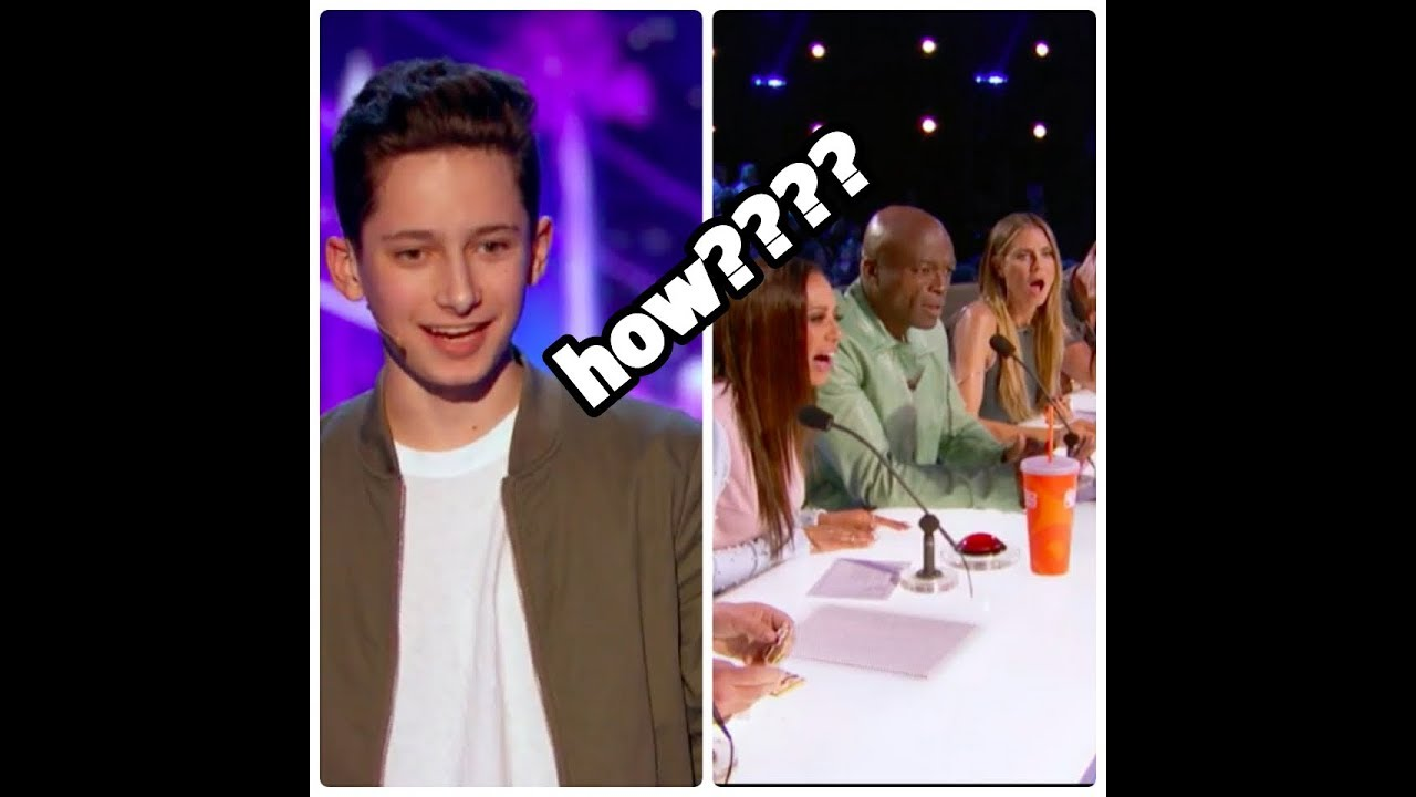 Americas got talent 2017 young magician - Henry Richardson Young Magician Performs Unbelievable Card Tricks America S Got Talent 2017