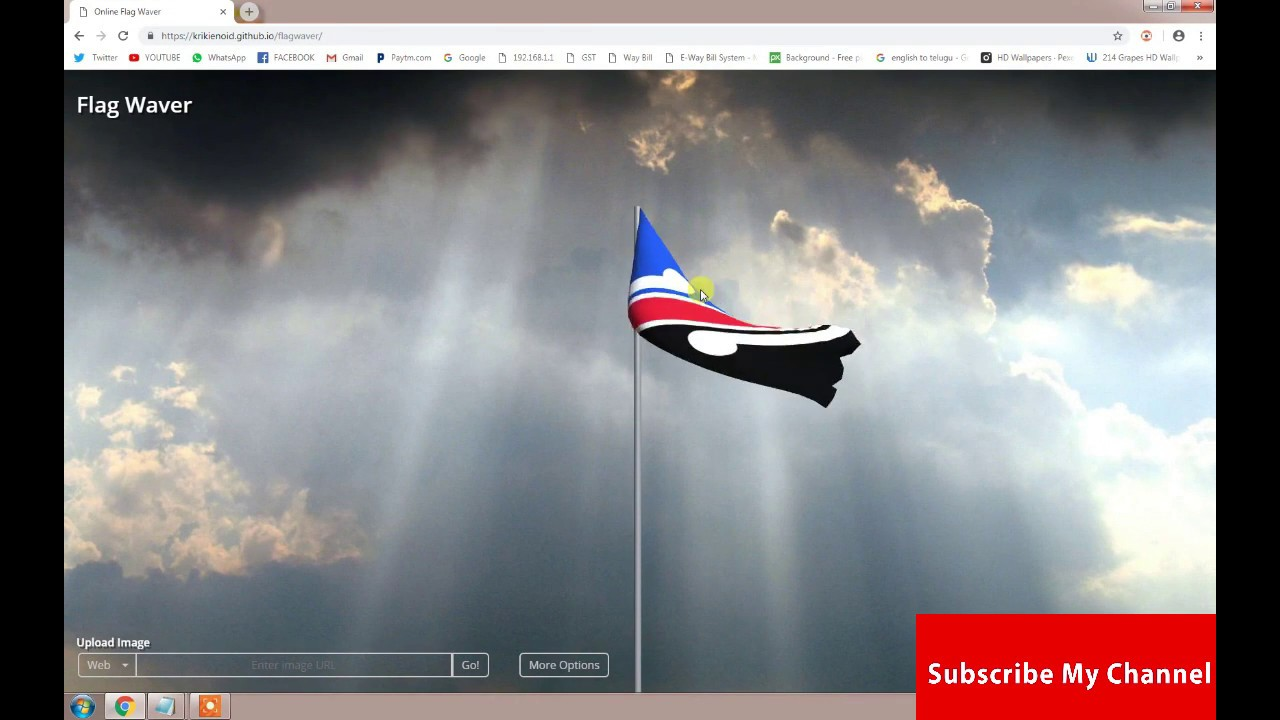ONLINE FLAG WAVER IN PC