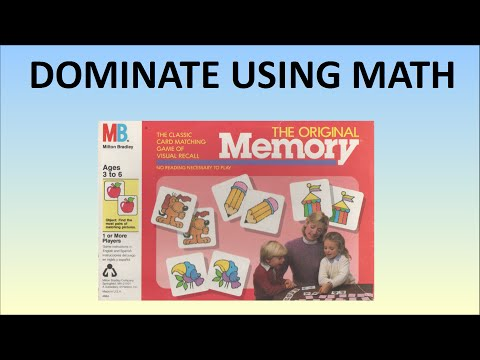 BEST Way To Play Memory (Card Game) - WIN Using Math
