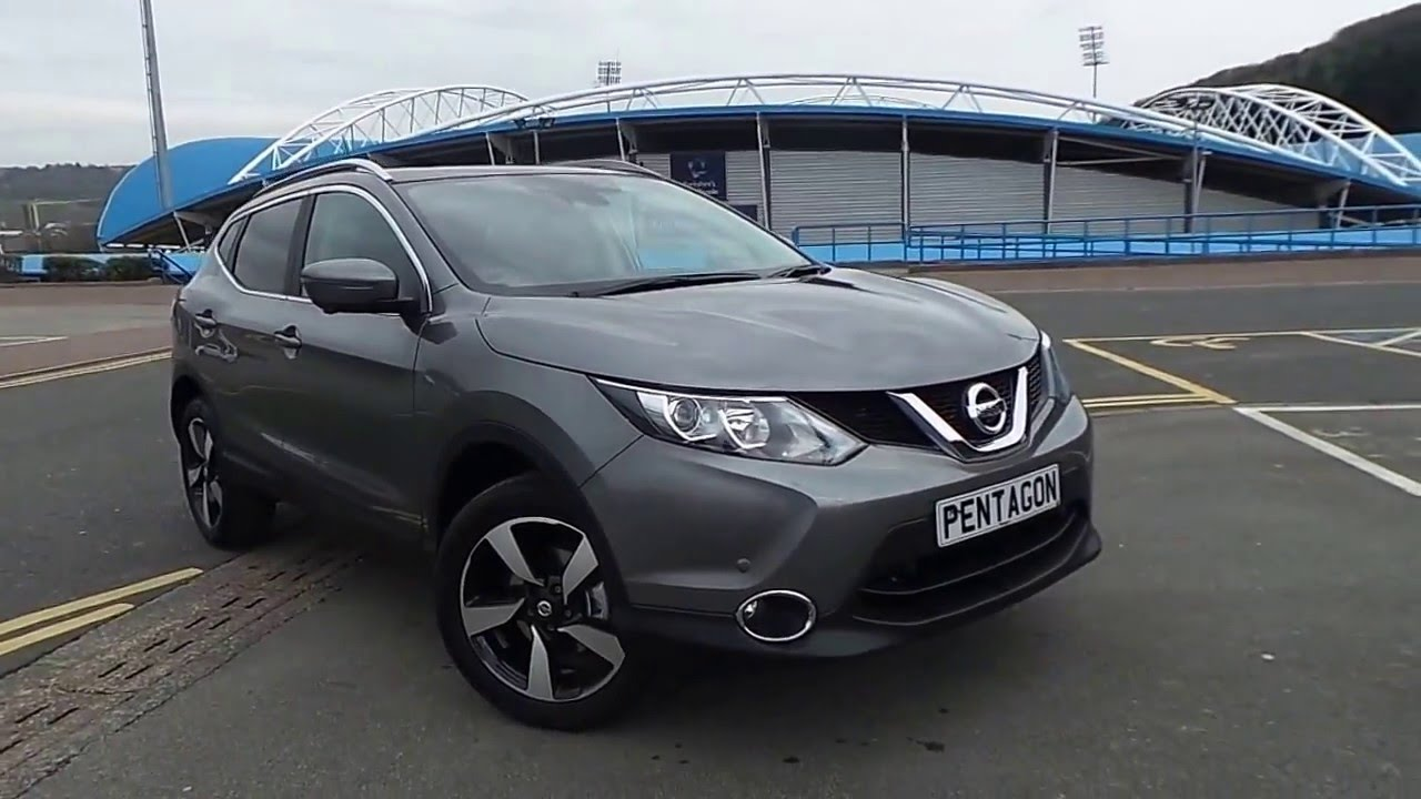 2016 16 nissan qashqai 1 5 dci n connecta 5dr inc comfort pack in grey youtube. Black Bedroom Furniture Sets. Home Design Ideas