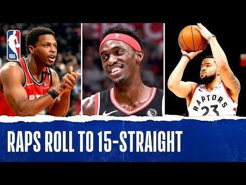Toronto Raptors Extend Win Streak To 15!