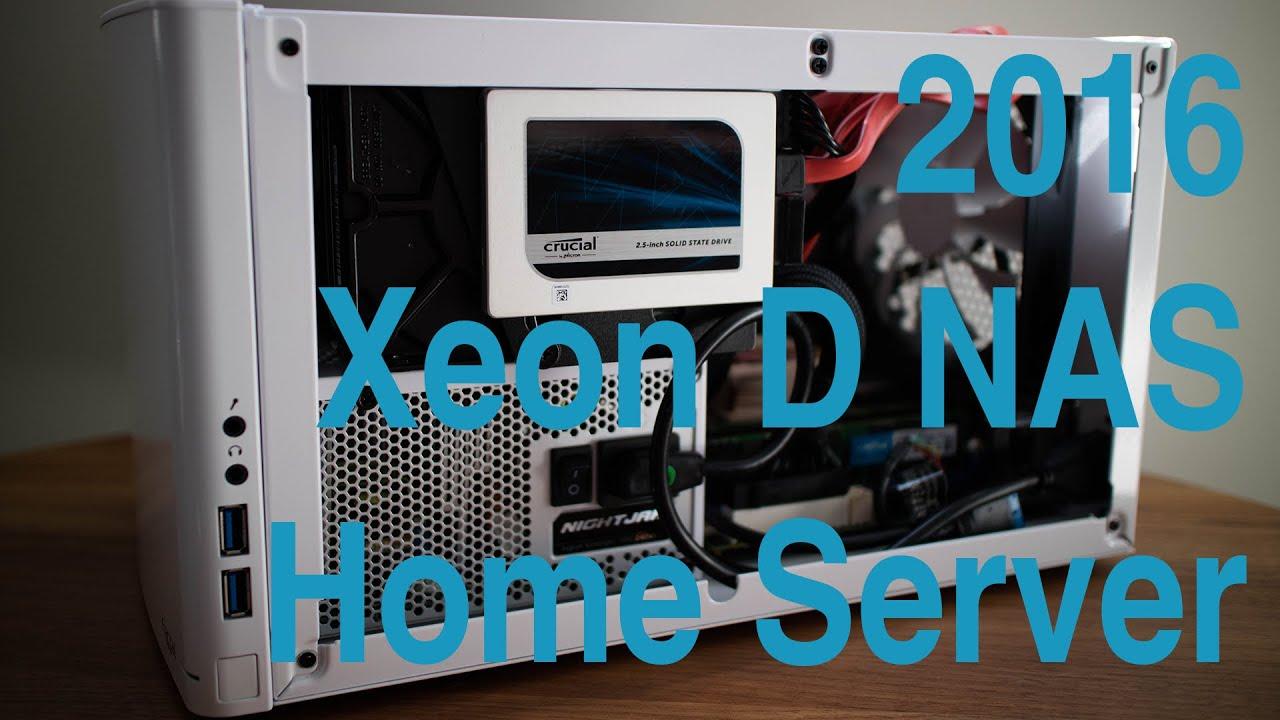 2016 Xeon D-1521 NAS Homelab with GPU Passthrough