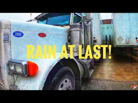 RAIN AT LAST!   My Trucking Life   #2346