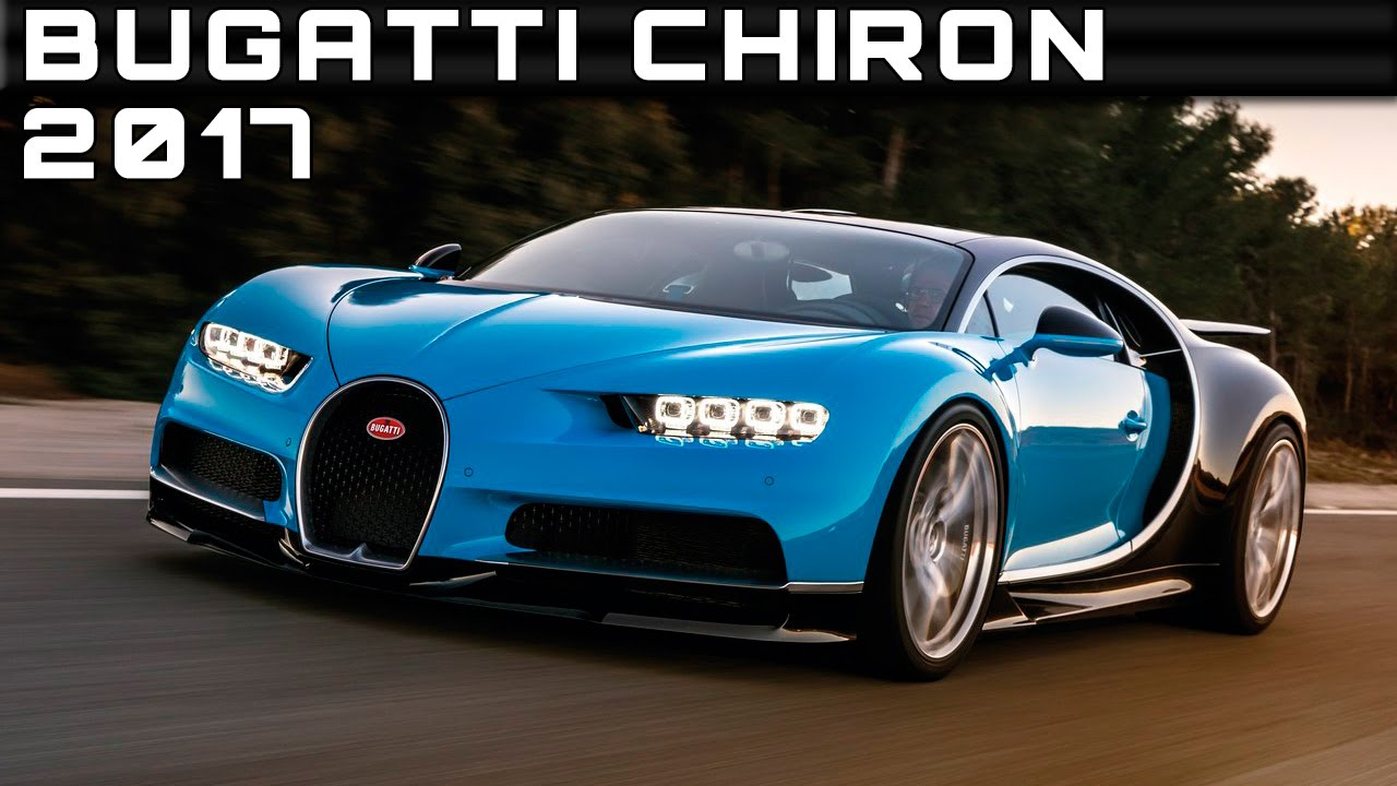 2017 Bugatti Chiron Review Rendered Price Specs Release ...