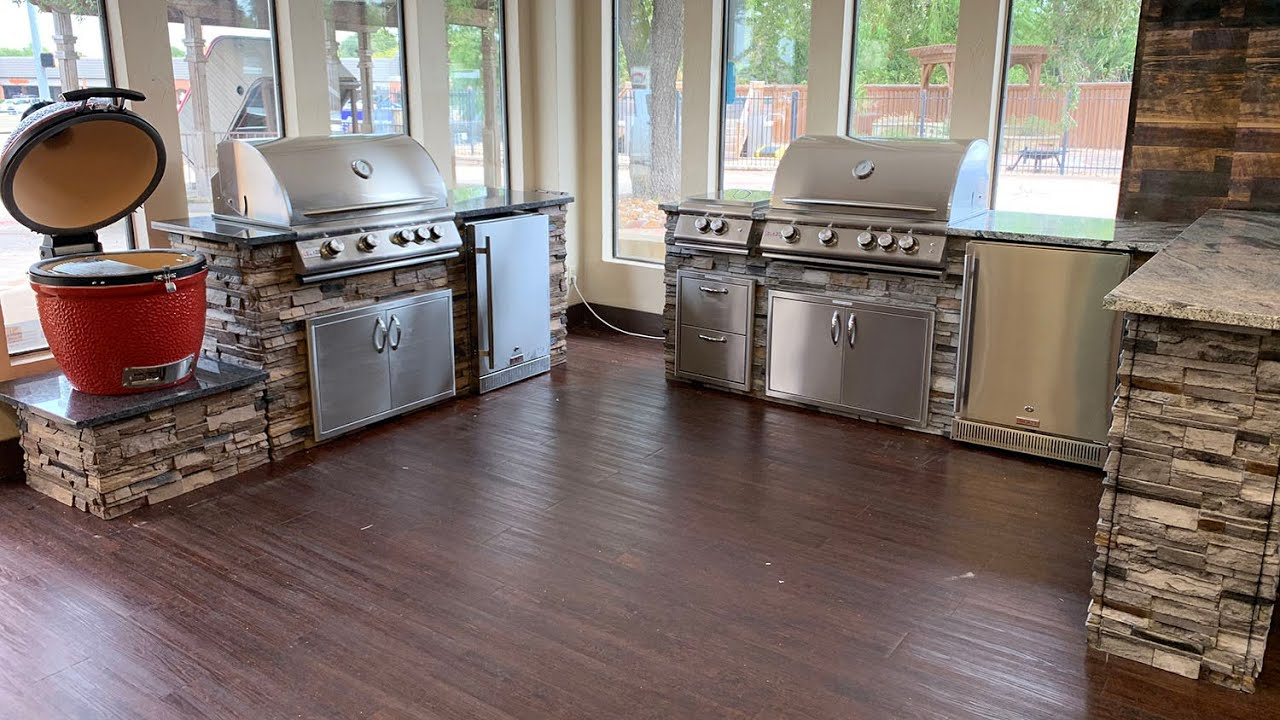 1 Hour Outdoor Kitchen Dallas Tx Youtube
