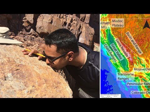 California Dreaming: Geologist's Adventure to Southern California