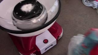 Lo ZUCCHERO FILATO anche a casa con Gadgy Cotton Candy Machine!