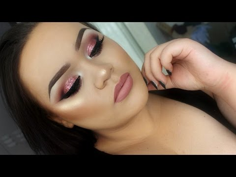 "Rose Glitter Prom ""EYE"" Makeup Tutorial | Makeupwithjah"