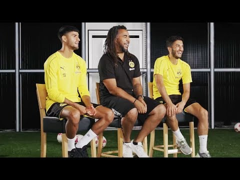 'Greek?!' | BVB Players Nuri Sahin und Co. Discovering their Roots!