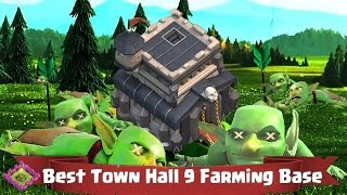 Clash of Clans Town Hall 9 Defense Tips - Farming!