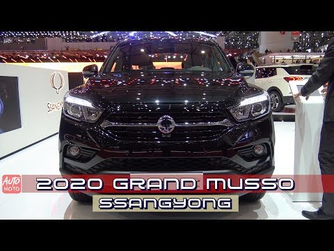 2020 SsangYong Grand Musso - Exterior And Interior - Debut At Geneva Motor Show 2019