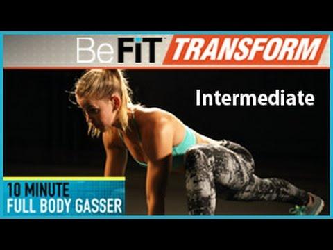 10 Min Full Body Gasser Workout - Intermediate Level