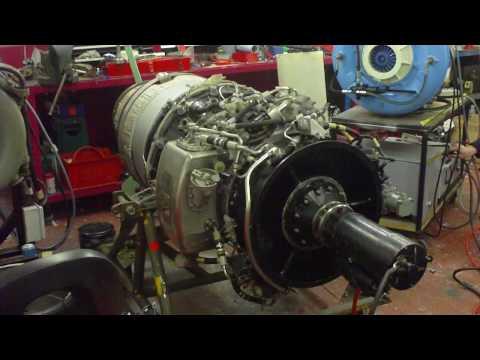 Rolls Royce Viper 102 Starter Test.MOV