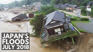Видео The Japan Floods July 2018 | Lin Nyunt от Lin Nyunt, Япония