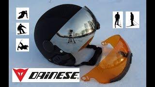 Обзор Шлема DAINESE vizor flex Helmet для сноуборда и горных лыж