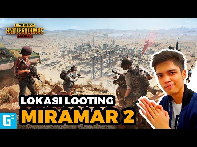 [GIVEAWAY!!] 5 LOKASI LOOTING TERBAIK DI MIRAMAR PART 2! - Tips PUBG Mobile Indo