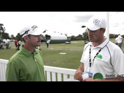Daniel Fox 2015 Australian Masters Golf Tuesday Interviews - SGA Media