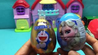 冰雪奇缘奇趣蛋 哆啦A梦出奇蛋 迪士尼惊喜蛋