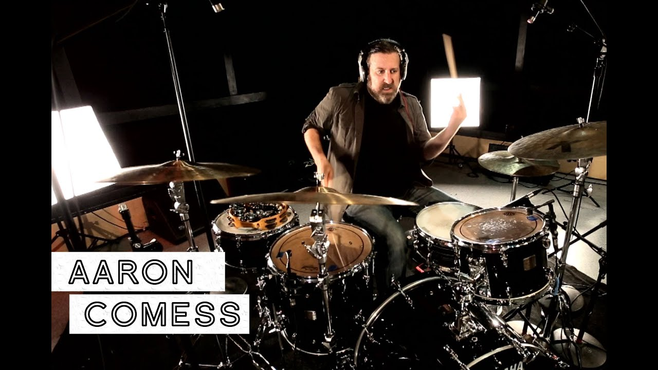 Image result for aaron comess drums