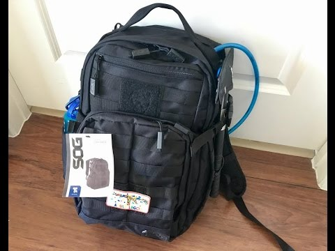 62cb11a2c4 SOG Ninja Daypack Full Review - YouTube