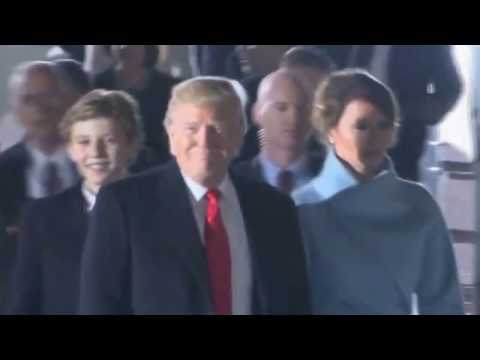 Extremely funny: Barron Trump mimics screaming audience and gets scolded by Melania