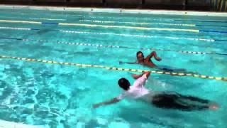 競泳 男子50m着衣自由形決勝 世界新