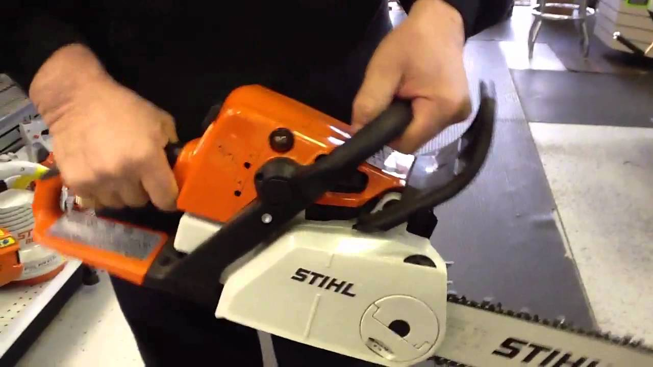 stihl ms 250 c be chainsaw toronto ontario youtube. Black Bedroom Furniture Sets. Home Design Ideas