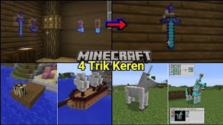 4 Trik Keren yg Mungkin Kalian Harus Coba Di MinecraftPE! NoMods