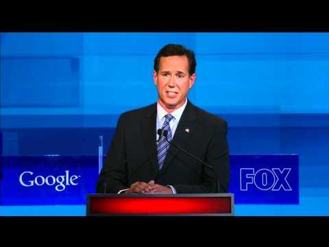 Santorum answers gay soldier