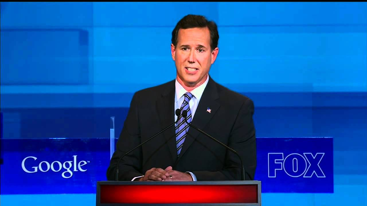 Download Santorum answers gay soldier's DADT question