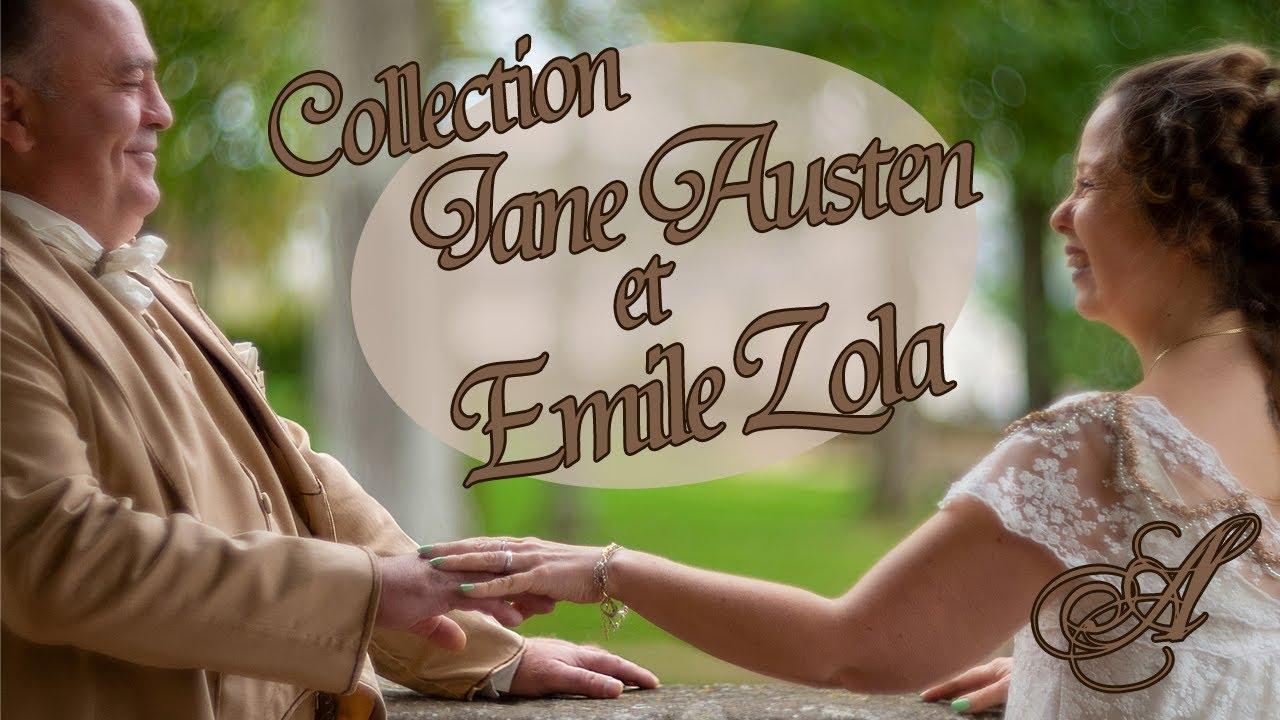 Vidéo Collection Jane Austen et Emile Zola !