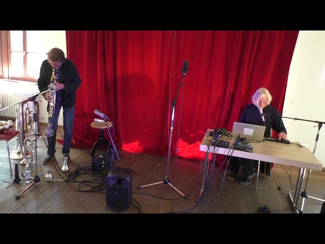 Udo Schindler und Jaap Blonk in Herrsching - Improvisation 7