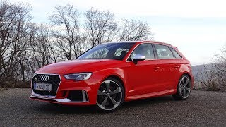 2018 Audi RS3 Sportback - Launch Control, Accelerations and Fast Ride!