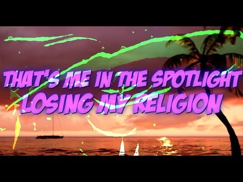 Lokee - Losing My Religion (feat. Pearl Andersson) [Official Lyric Video]