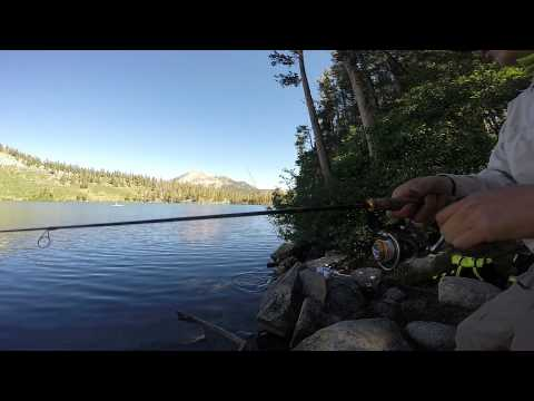 Lake george mammoth lakes california trout fishing for California fishing limits