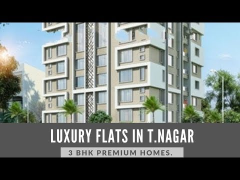 3 BHK, High Rise Luxury Apartments For Sale In T.Nagar - Call 98409 51001/03 To Know More!