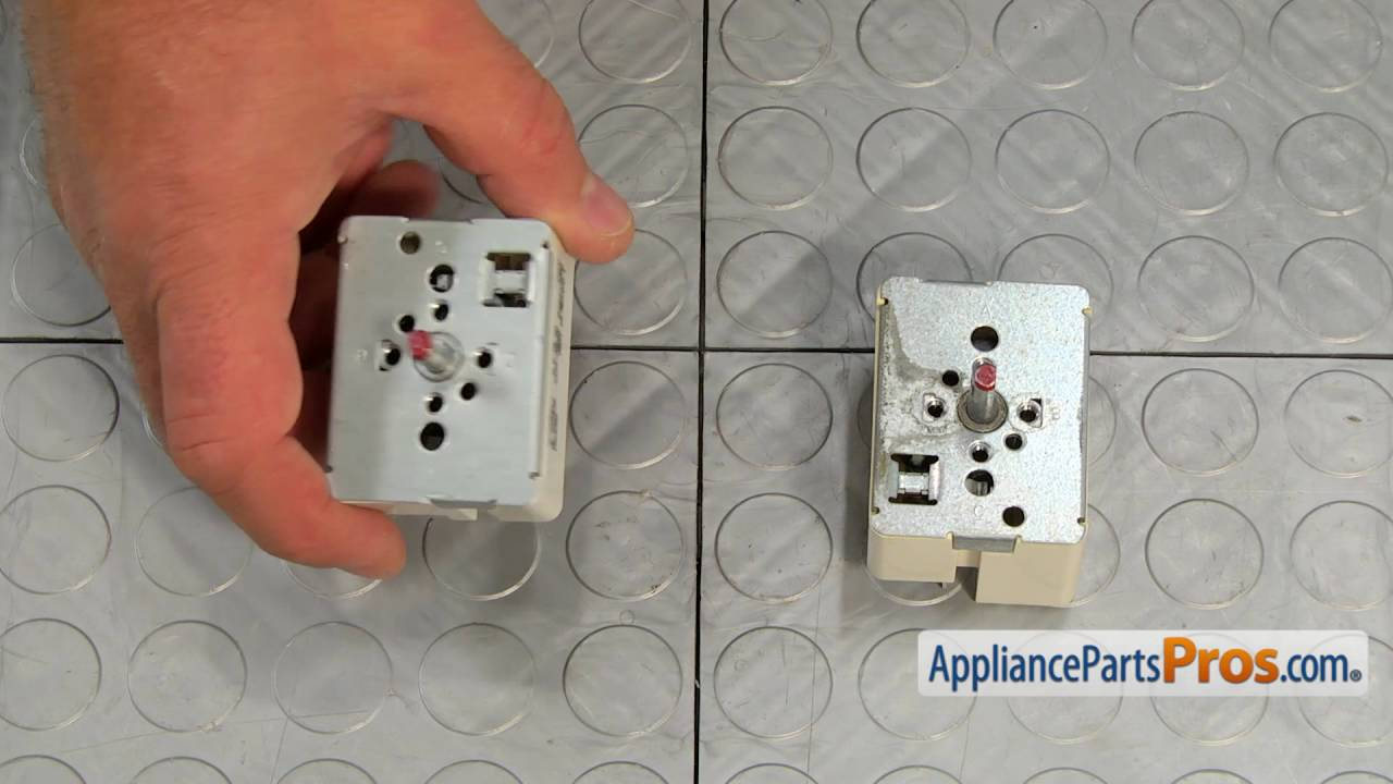How To  Frigidaire  Electrolux Large Surface Element Switch 316436001