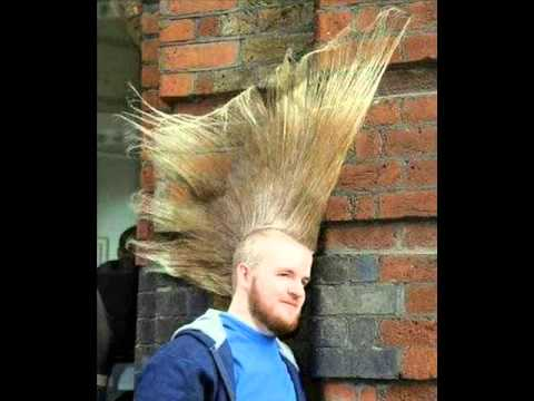 funny hairstyles video